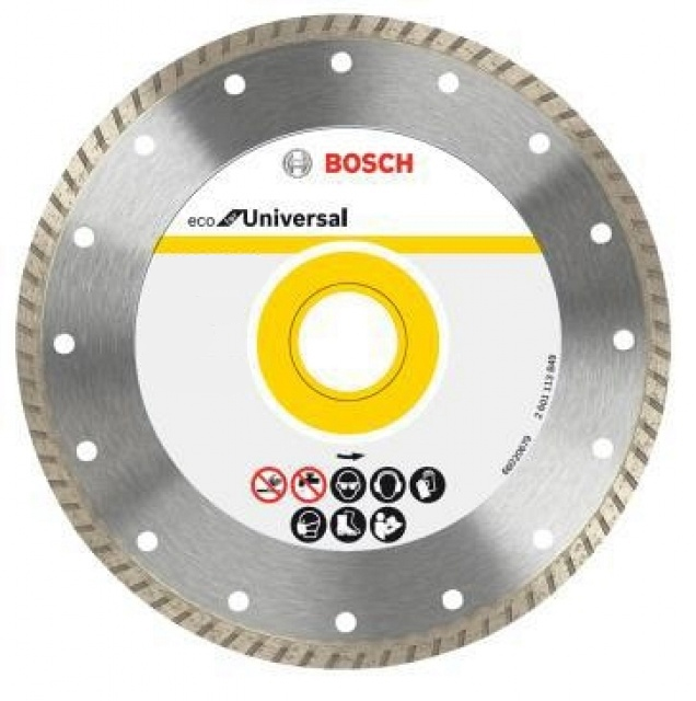 Diamantový kotúč BOSCH ECO TURBO 230mm