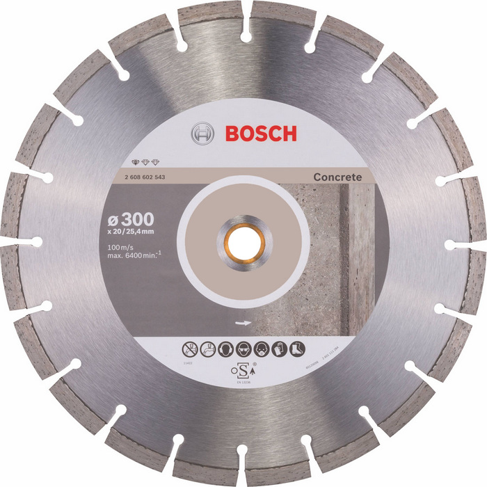 BOSCH Standard for Concrete 300x20/25,4mm