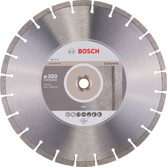 BOSCH Standard for Concrete 350x20/25,4mm