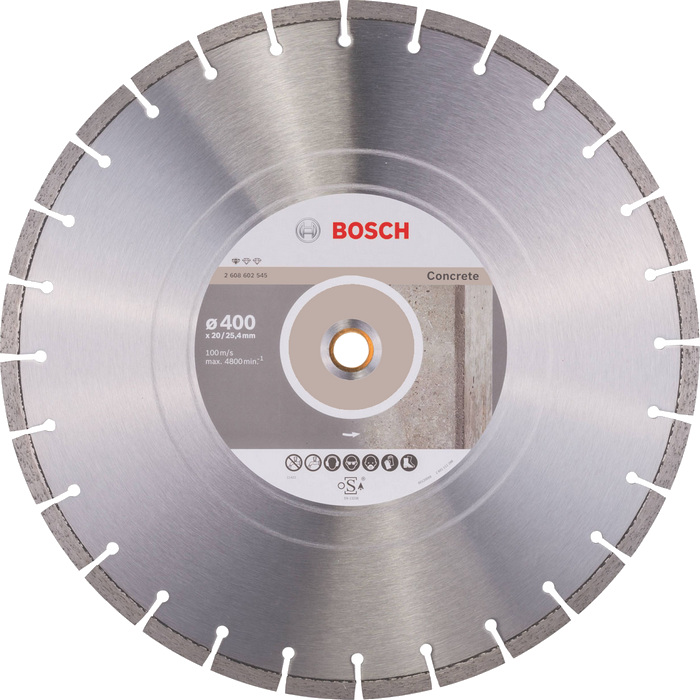 BOSCH Standard for Concrete 400x20/25,4mm
