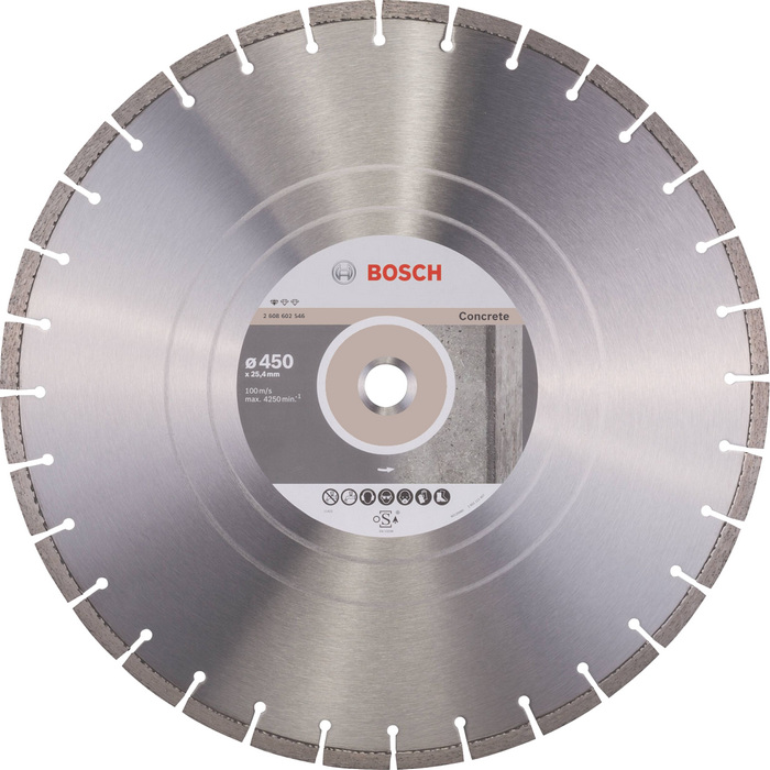 BOSCH Standard for Concrete 450x25,4mm