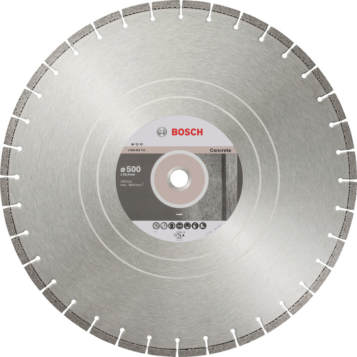 BOSCH Standard for Concrete 500x25,4mm