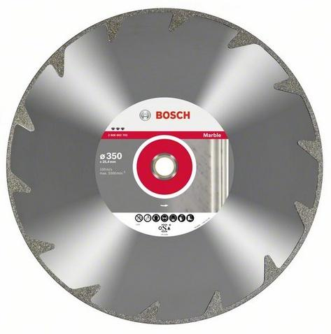 BOSCH best for Marble 350x25,4mm