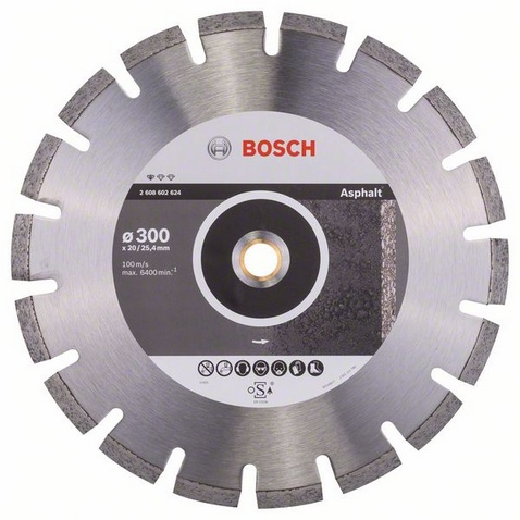 BOSCH Standard for Asphalt 300x25,4mm