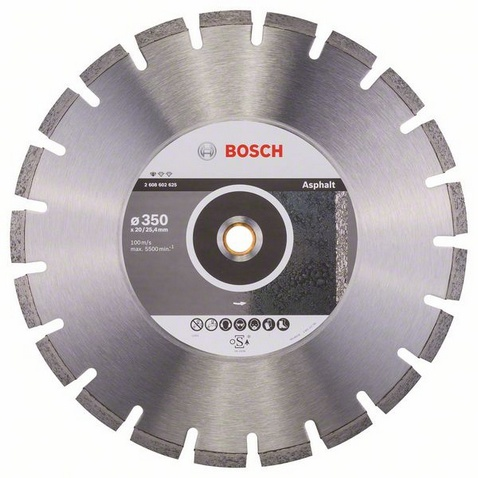 BOSCH Standard for Asphalt 350x25,4mm