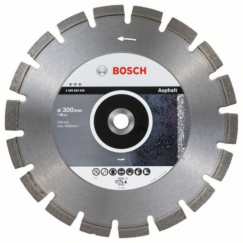 BOSCH Best for Asphalt 300x20mm