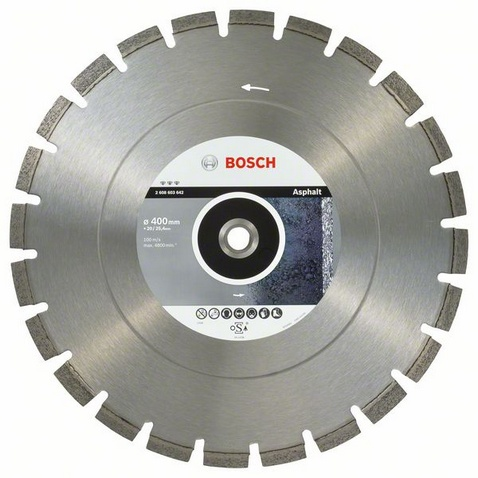 BOSCH Best for Asphalt 400x20/25,4mm