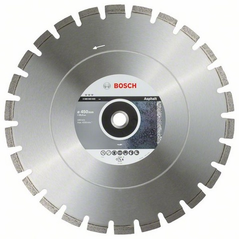 BOSCH Best for Asphalt 450x20/25,4mm