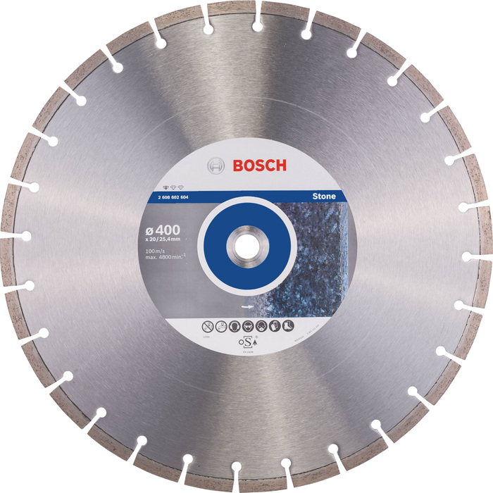 BOSCH Standard for Stone 400x20/25,4mm