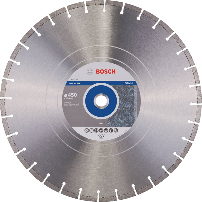 BOSCH Standard for Stone 450x25,4mm