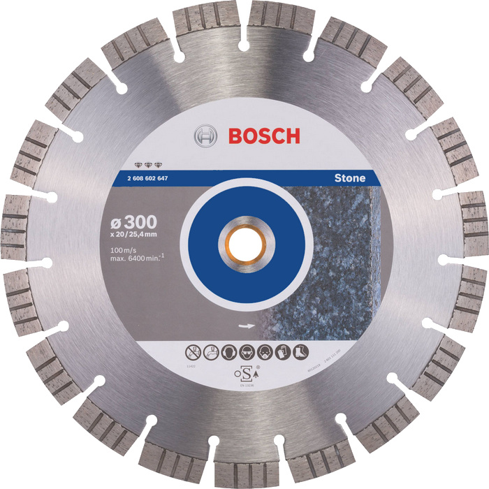 BOSCH Best for Stone 300x20/25,4mm