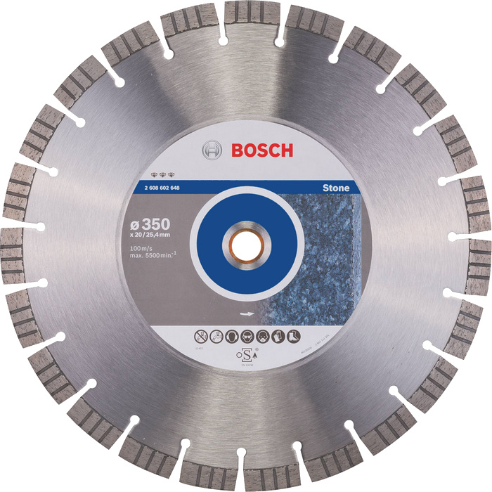 BOSCH Best for Stone 350x20/25,4mm