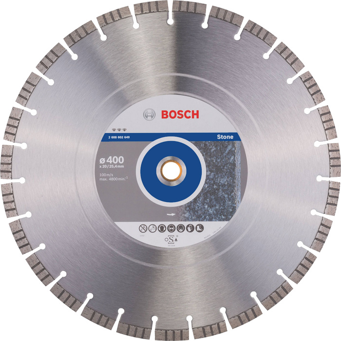 BOSCH Best for Stone 400x20/25,4mm