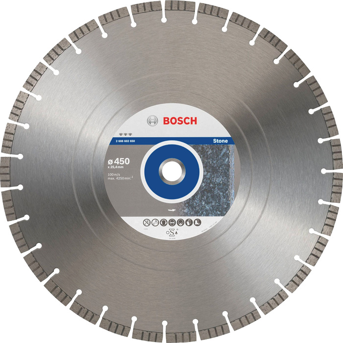 BOSCH Best for Stone 450x25,4mm