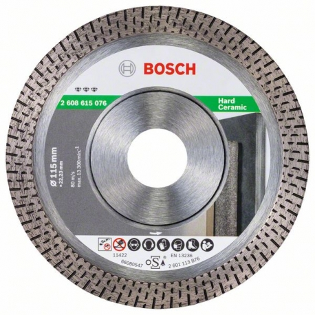 BOSCH Best for Hard Ceramic 115x22mm